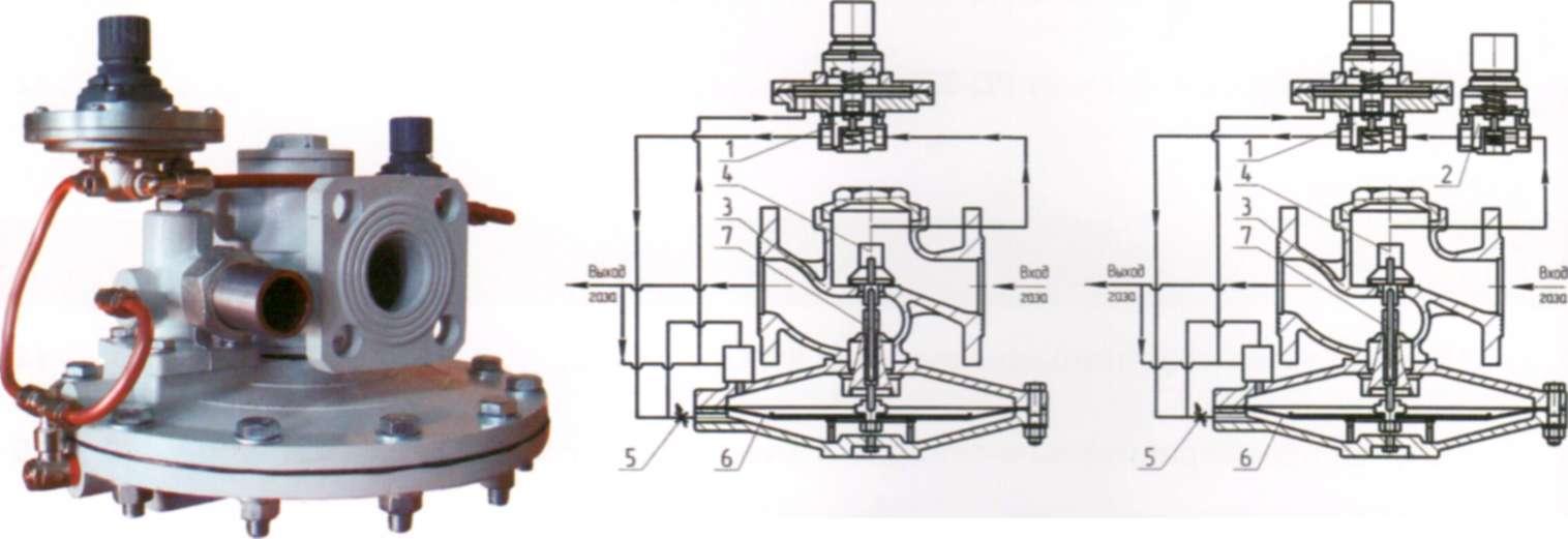 Мембрана исполнительного механизма РДГ-50Н/25